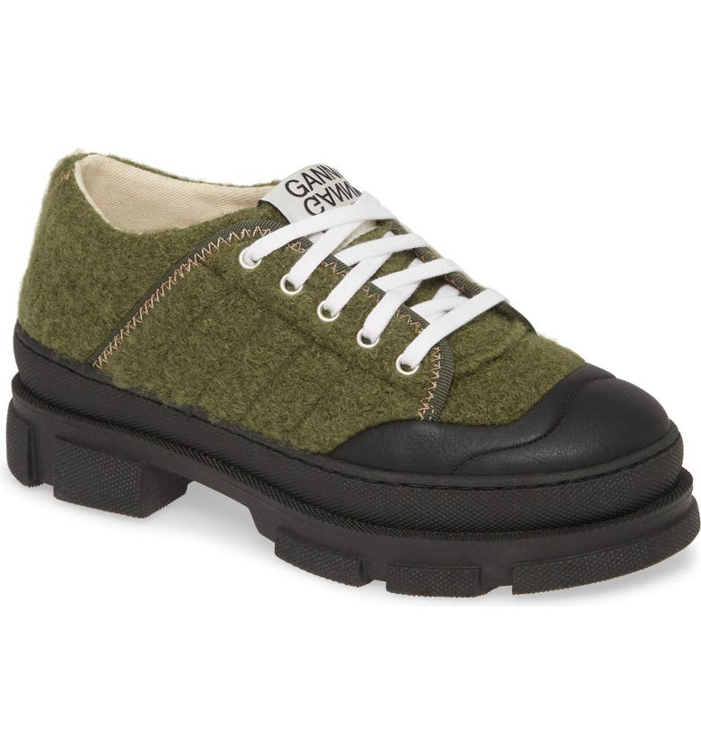 GANNI Hybrid Sneaker, Main, color, KALAMATA