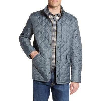Barbour Flyweight Chelsea Quilted Jacket, Grey