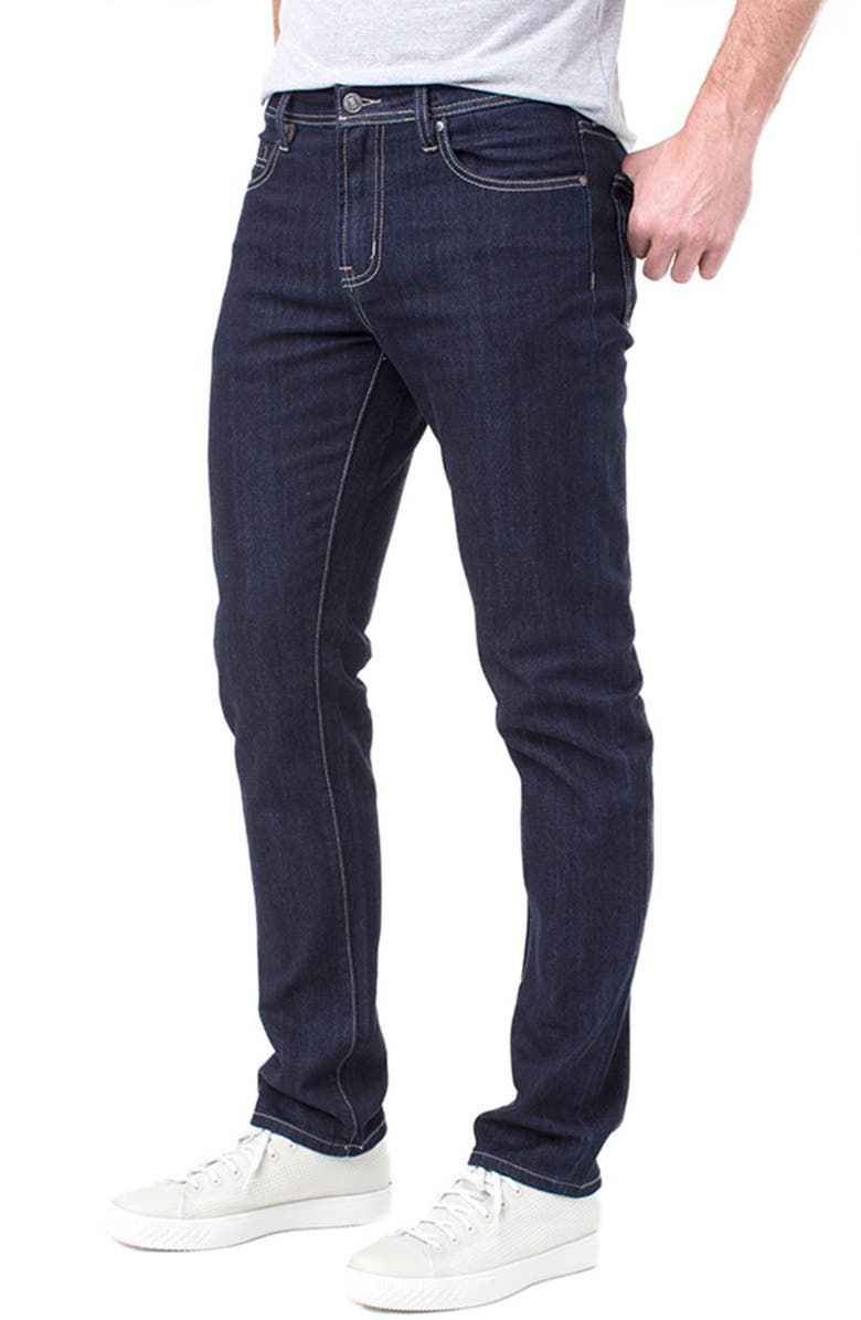 LIVERPOOL Kingston Slim Straight Leg Jeans, Main, color, IND RINSE
