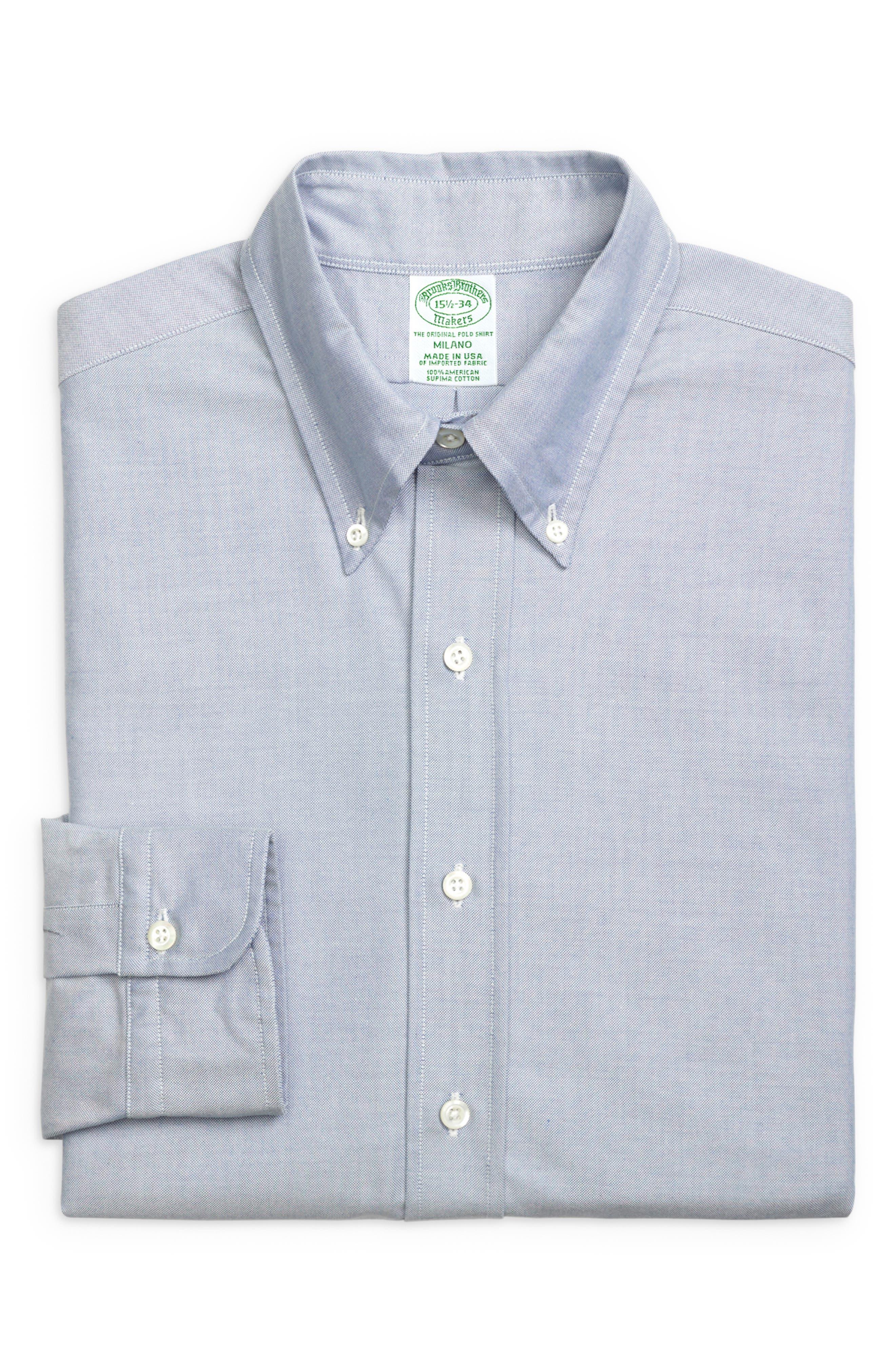 Milano Slim Fit Solid Dress Shirt