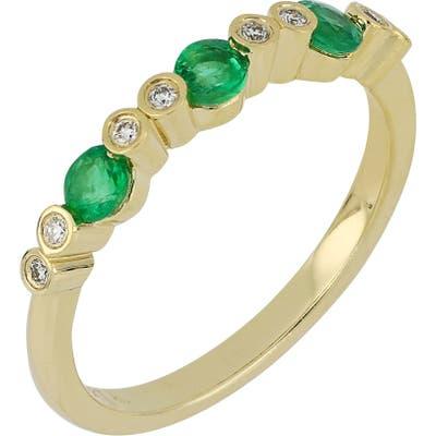Bony Levy Diamond & Emerald Ring (Nordstrom Exclusive)