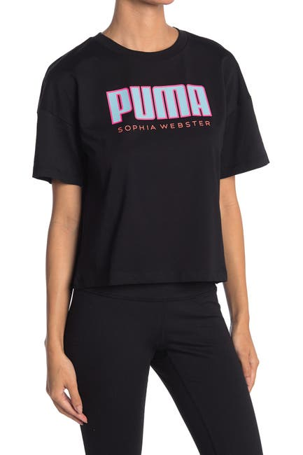Image of PUMA X Sophia Webster Logo Tee