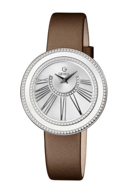 Image of Gevril Women's Fifth Avenue Diamond Swiss Quartz Watch, 38mm - 1.00 ctw