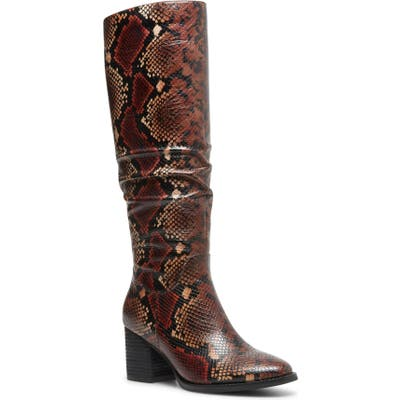 Blondo Nadeen Waterproof Knee High Boot, Red