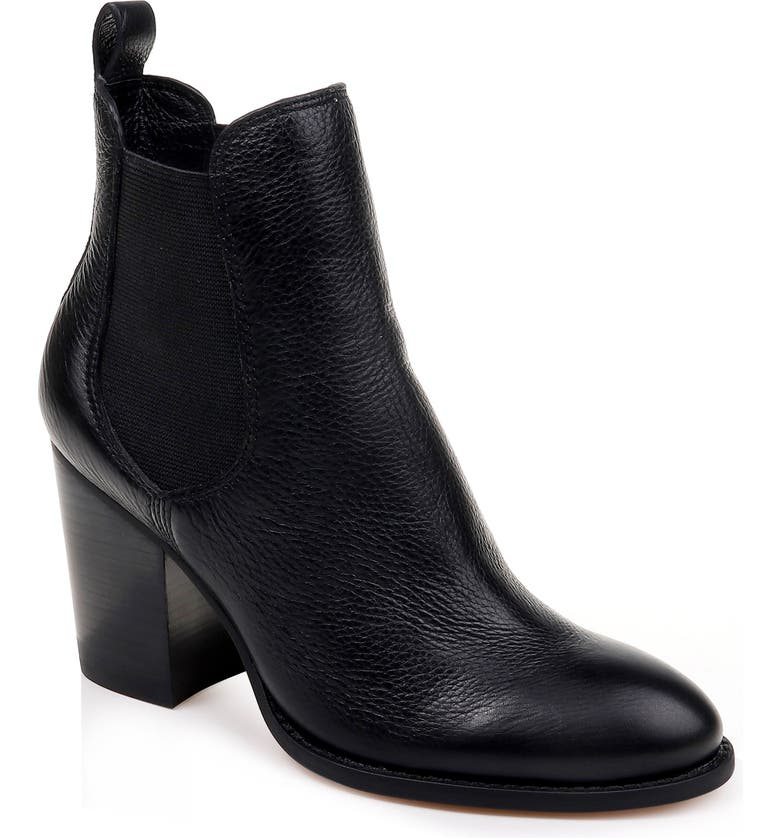 SPLENDID Highland Bootie, Main, color, BLACK LEATHER