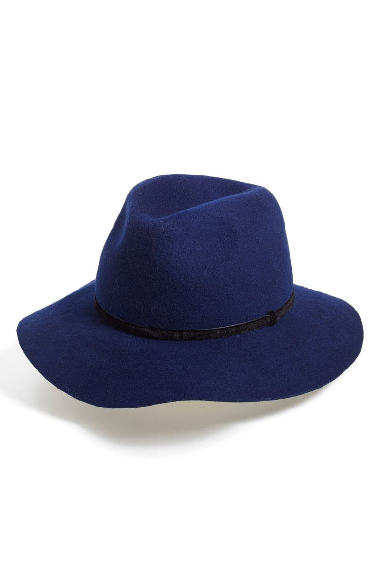 DAVID & YOUNG Floppy Wool Panama Hat, Main, color, 400