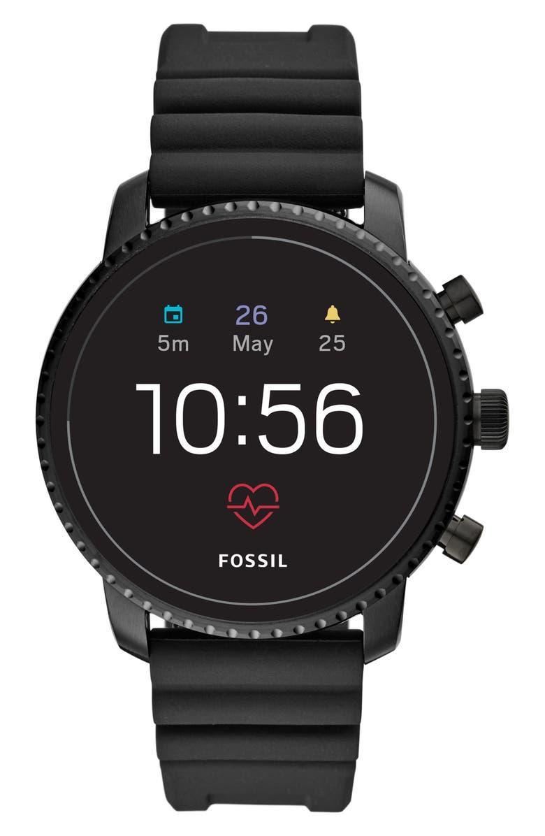 FOSSIL Q Explorist Smartwatch, 45mm, Main, color, 001