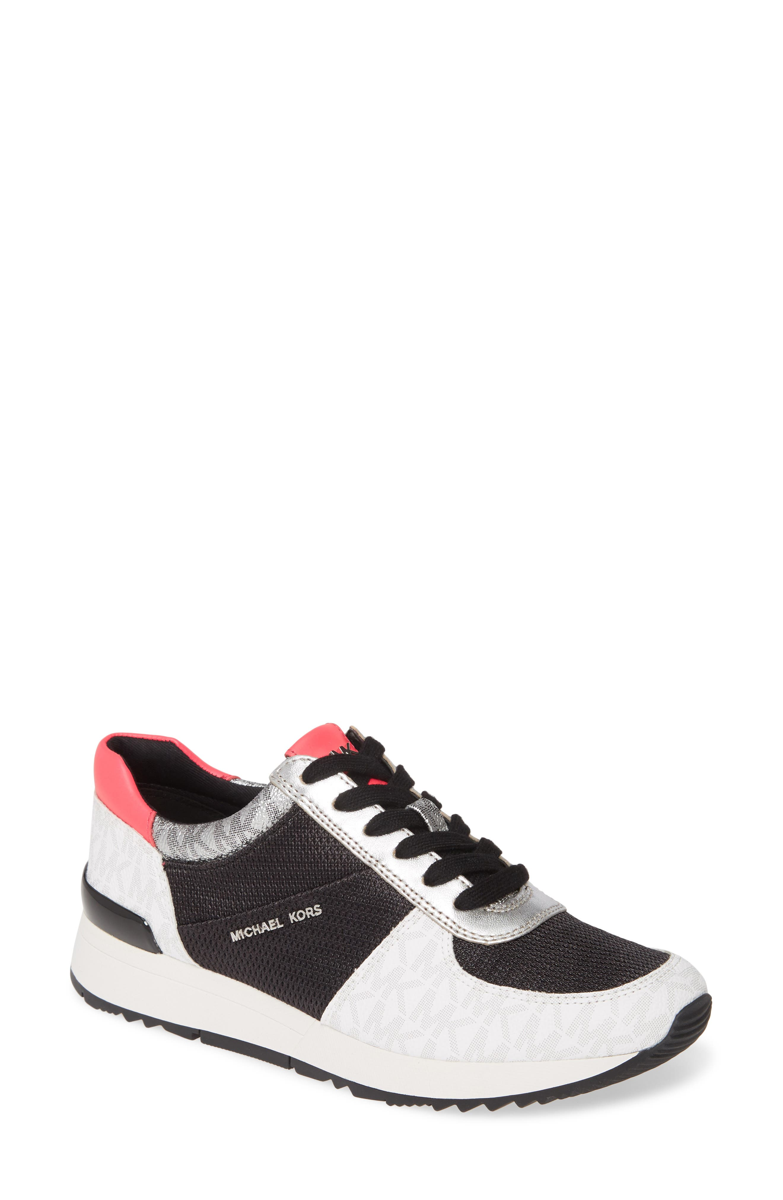 Michael Michael Kors Allie Trainer Sneaker- Black