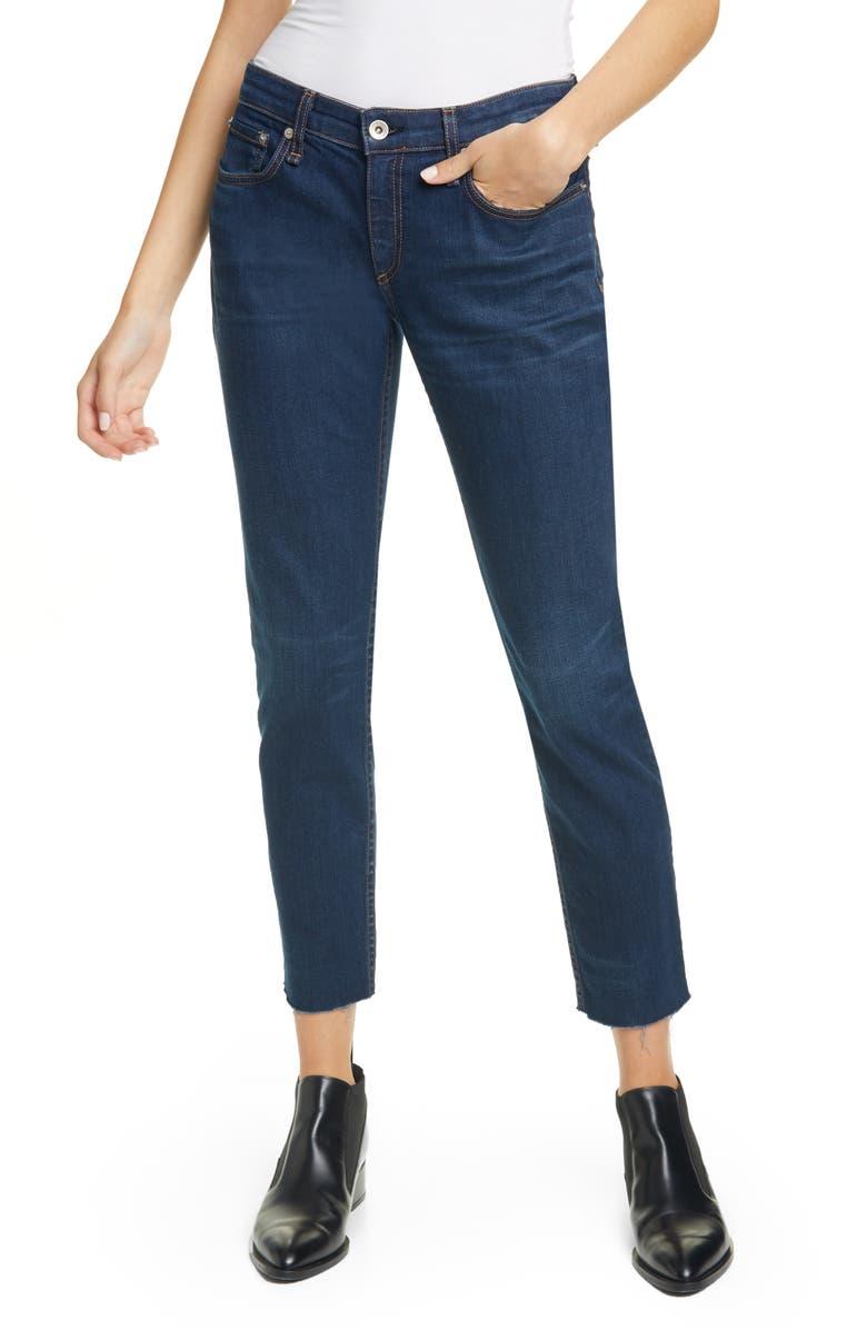 RAG & BONE Dre Slim Boyfriend Jeans, Main, color, NEW WORN