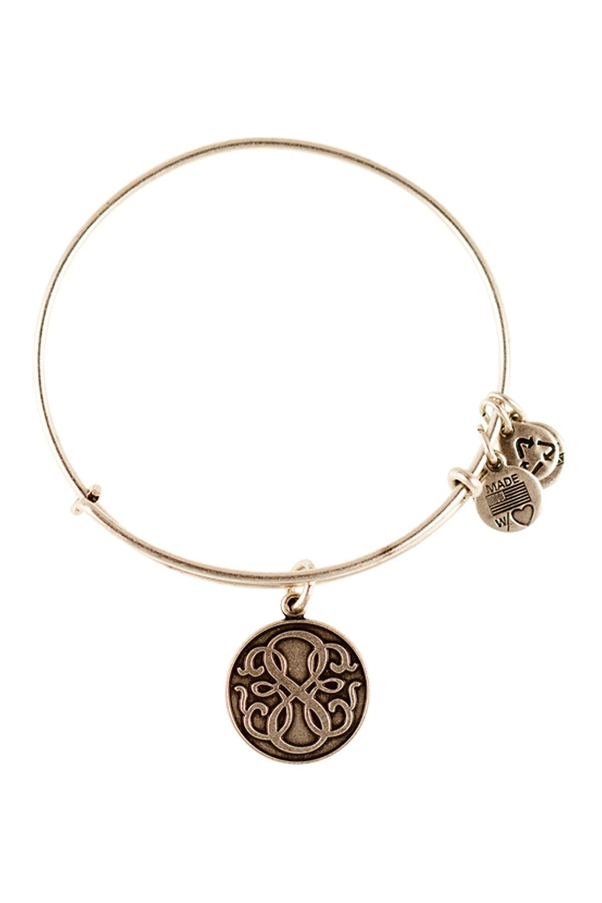 Image of Alex and Ani Path of Life Wire Bangle