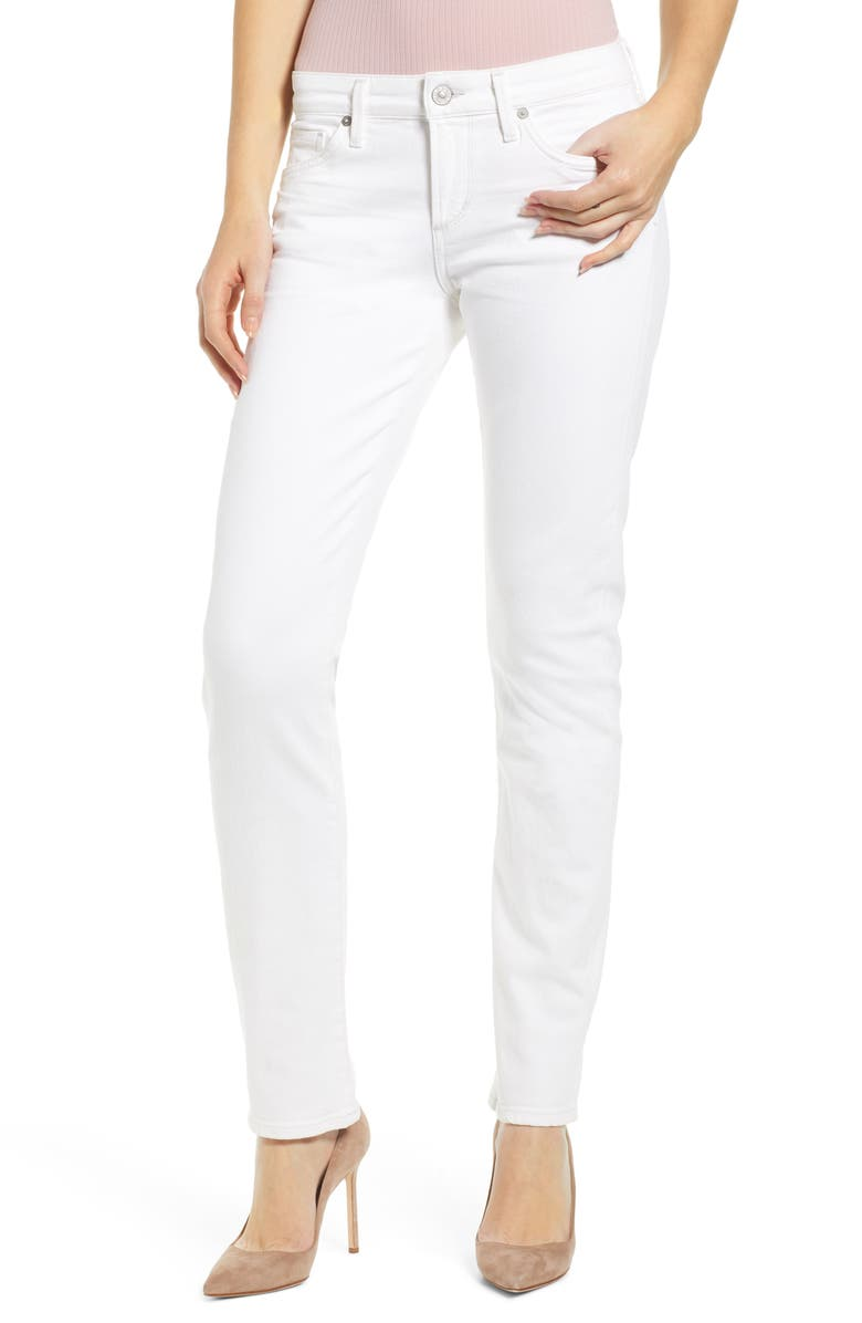 CITIZENS OF HUMANITY Racer Slim Jeans, Main, color, SEA SALT