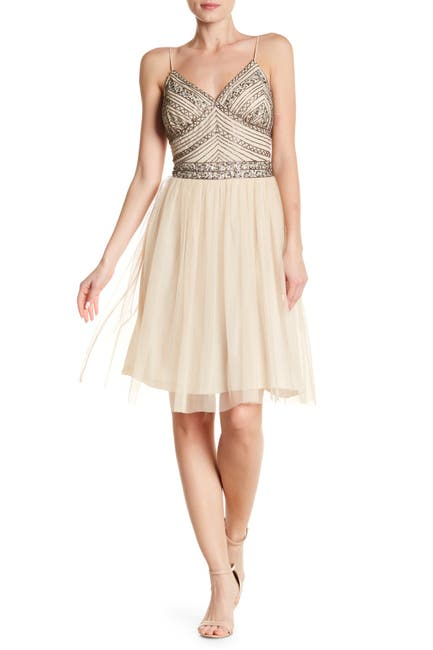 Image of Marina Beaded Bodice Dress