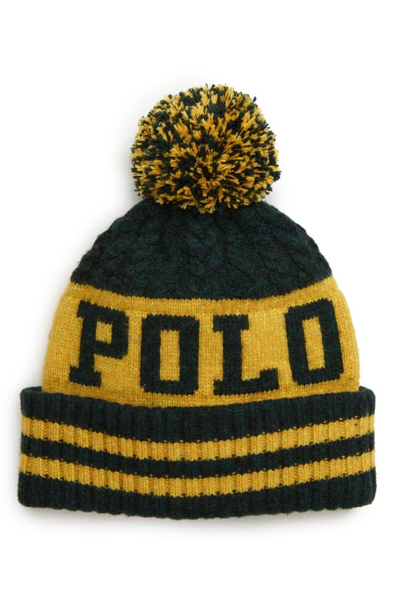 POLO RALPH LAUREN 1967 Wool Blend Hat, Main, color, 305