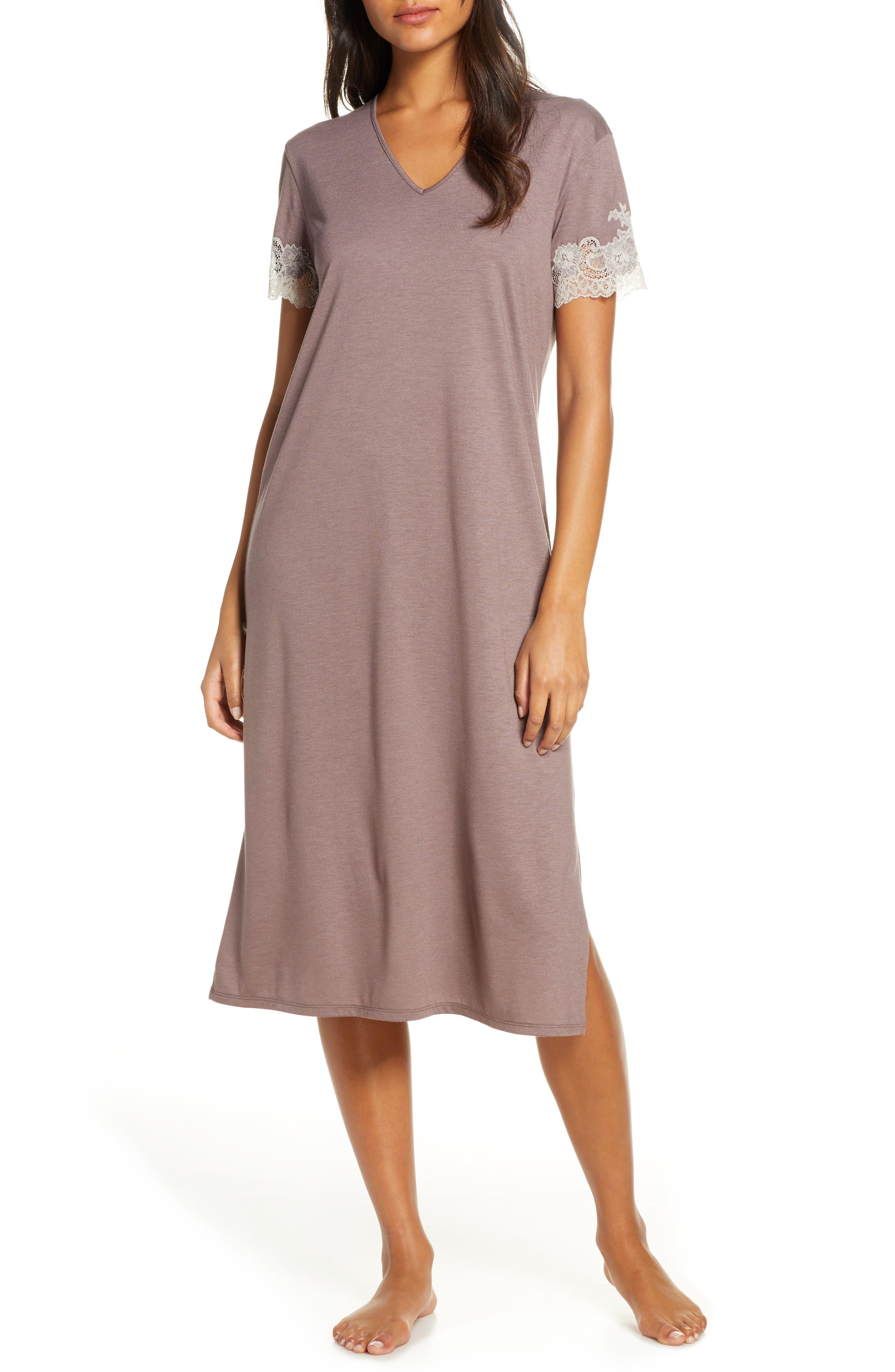 Natori Luxe Shangri-La Lounger Nightgown