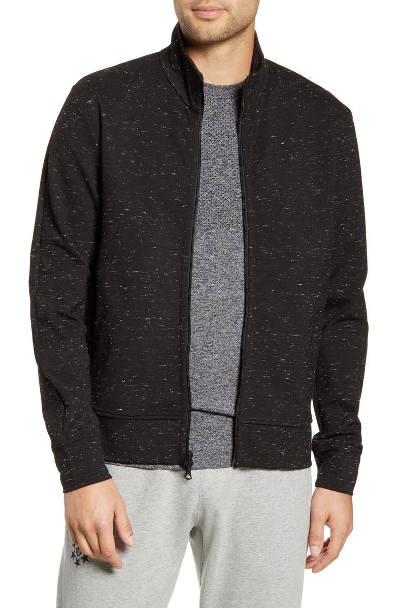 REIGNING CHAMP e Ponte Neppy Track Jacket, Main, color, BLACK