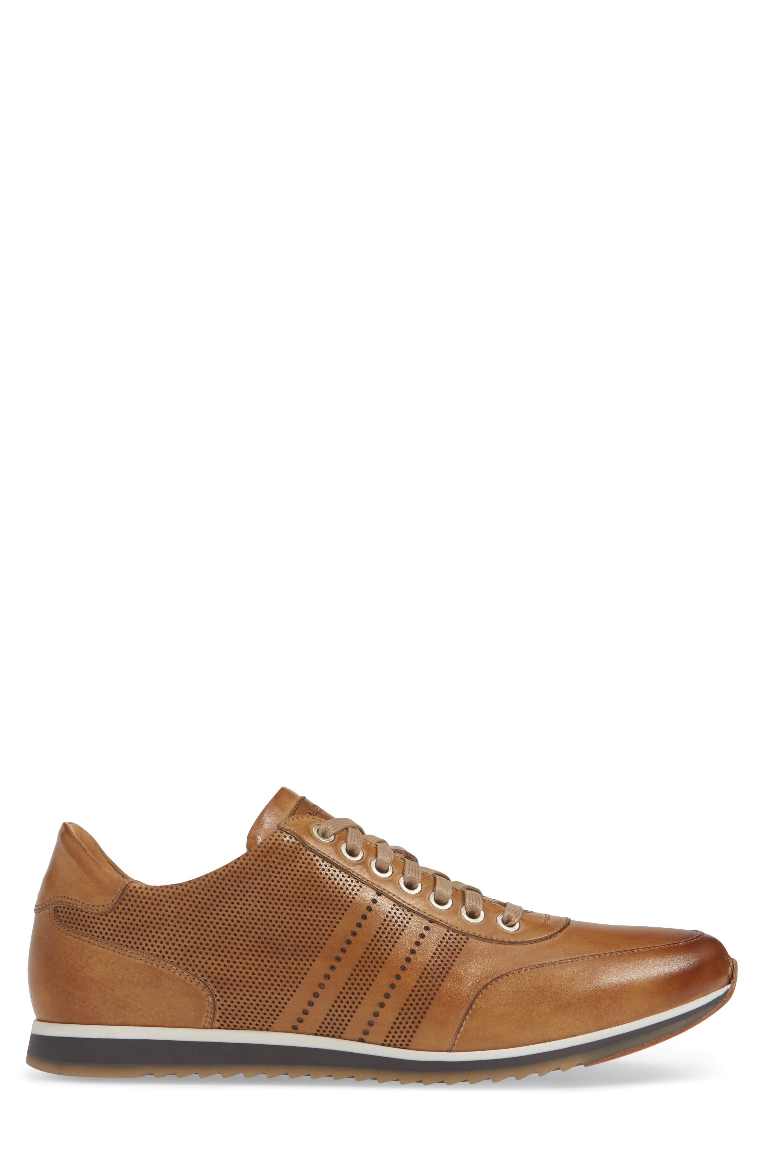 ,                             Merino Sneaker,                             Alternate thumbnail 3, color,                             TOBACCO LEATHER