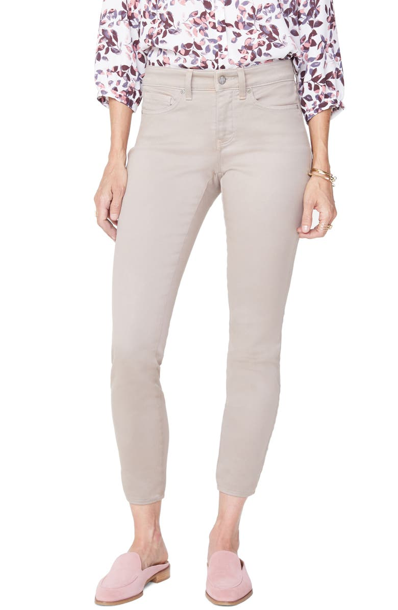NYDJ Ami High Waist Colored Stretch Skinny Jeans, Main, color, 250