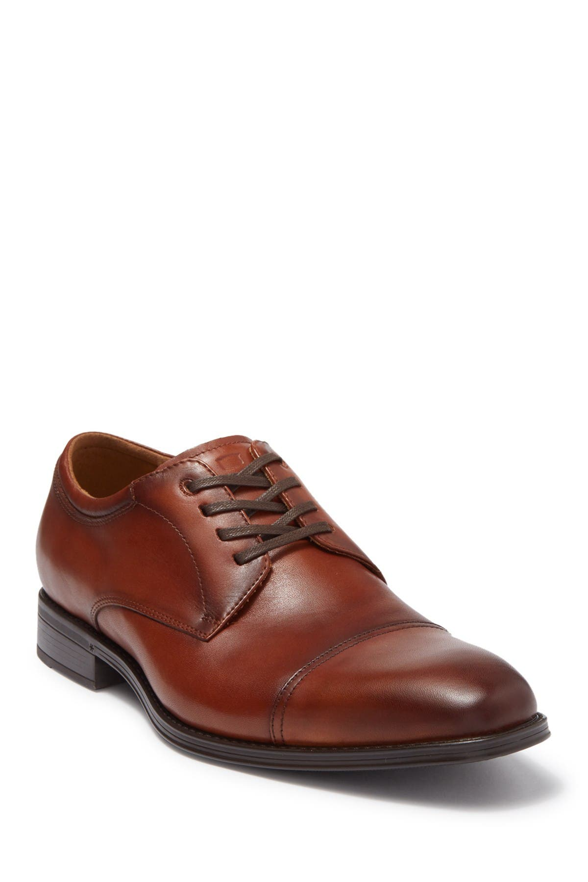 Image of Florsheim Alanzo Leather Cap Toe Oxford