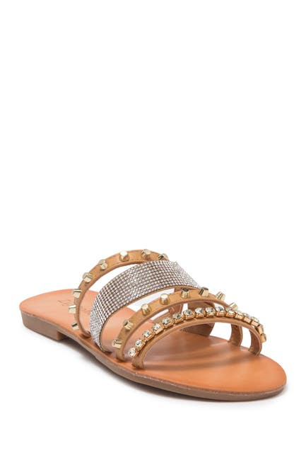 Image of Zigi Soho Aiza Strappy Embellished Slide Sandal