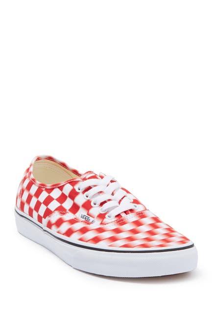 Image of VANS Authentic Blur Check Sneaker