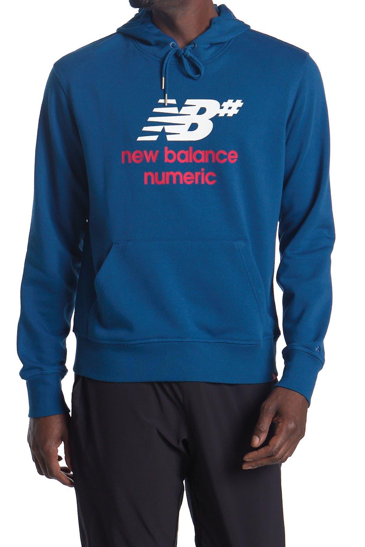 Image of New Balance Logo Stacked Hoodie