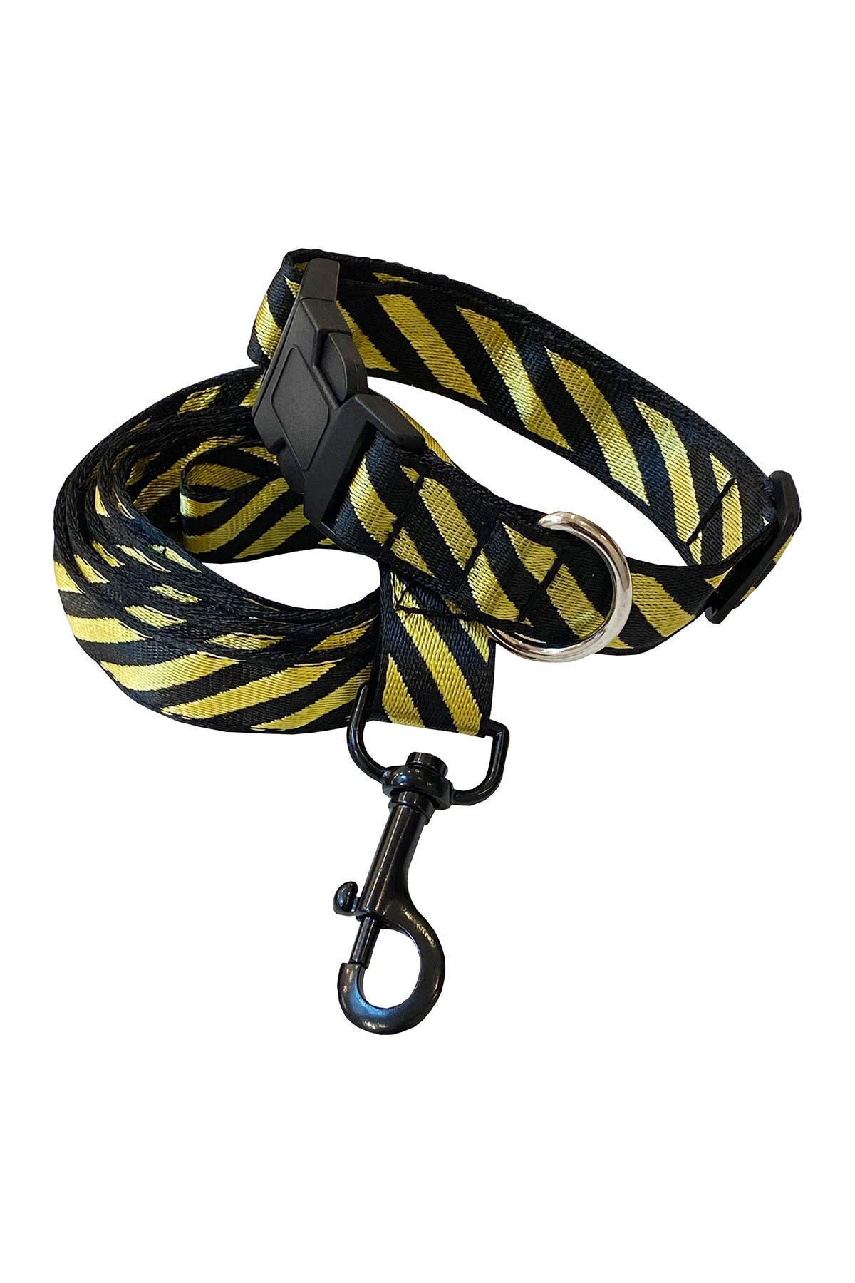 Image of Dogs of Glamour Shane Collar & Leash Set Gold - Small