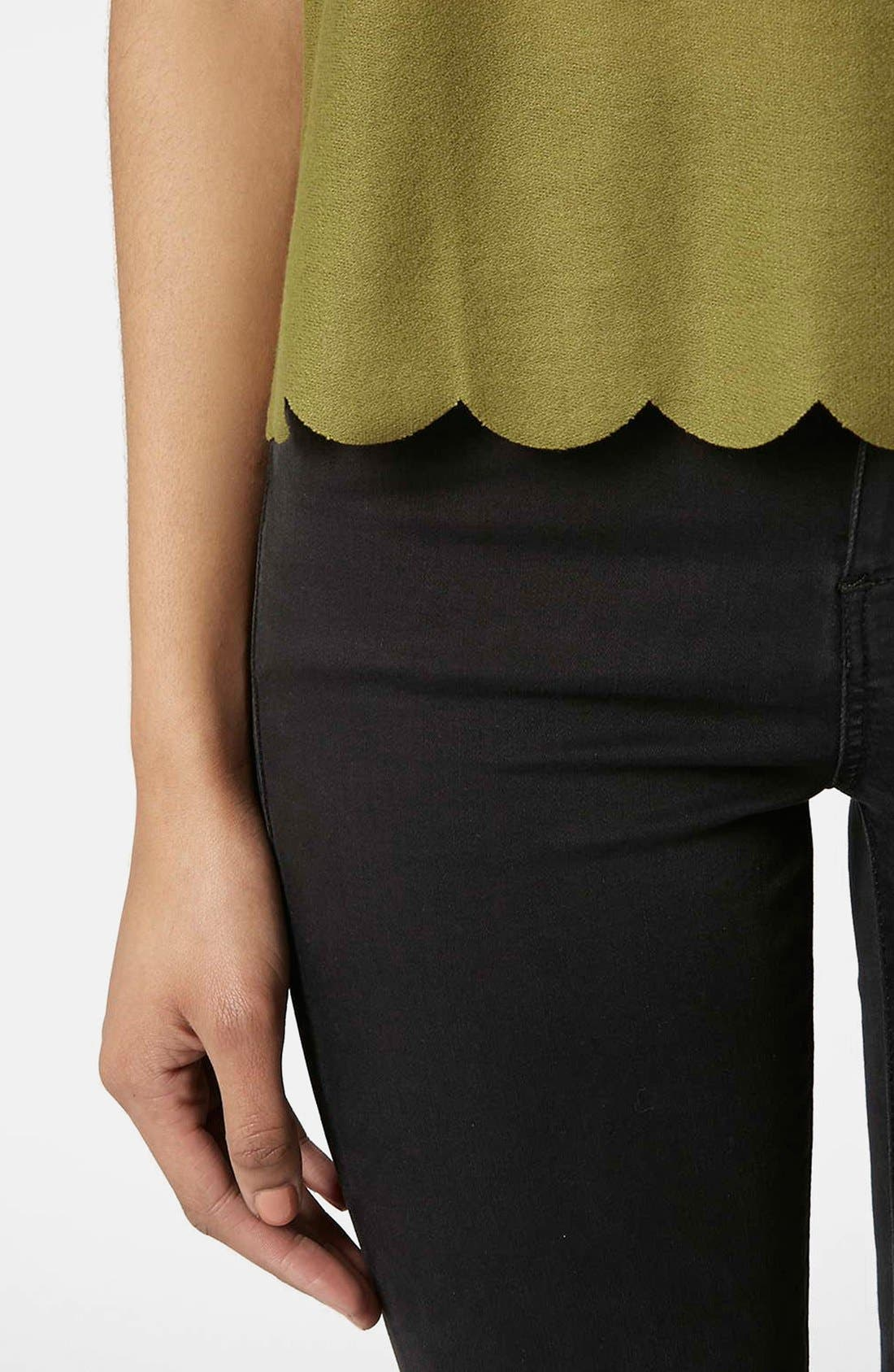 ,                             Scallop Frill Tee,                             Alternate thumbnail 16, color,                             300