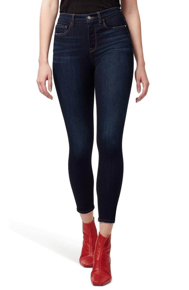 SANCTUARY Social Standard High Waist Ankle Skinny Jeans, Main, color, ABIGAIL