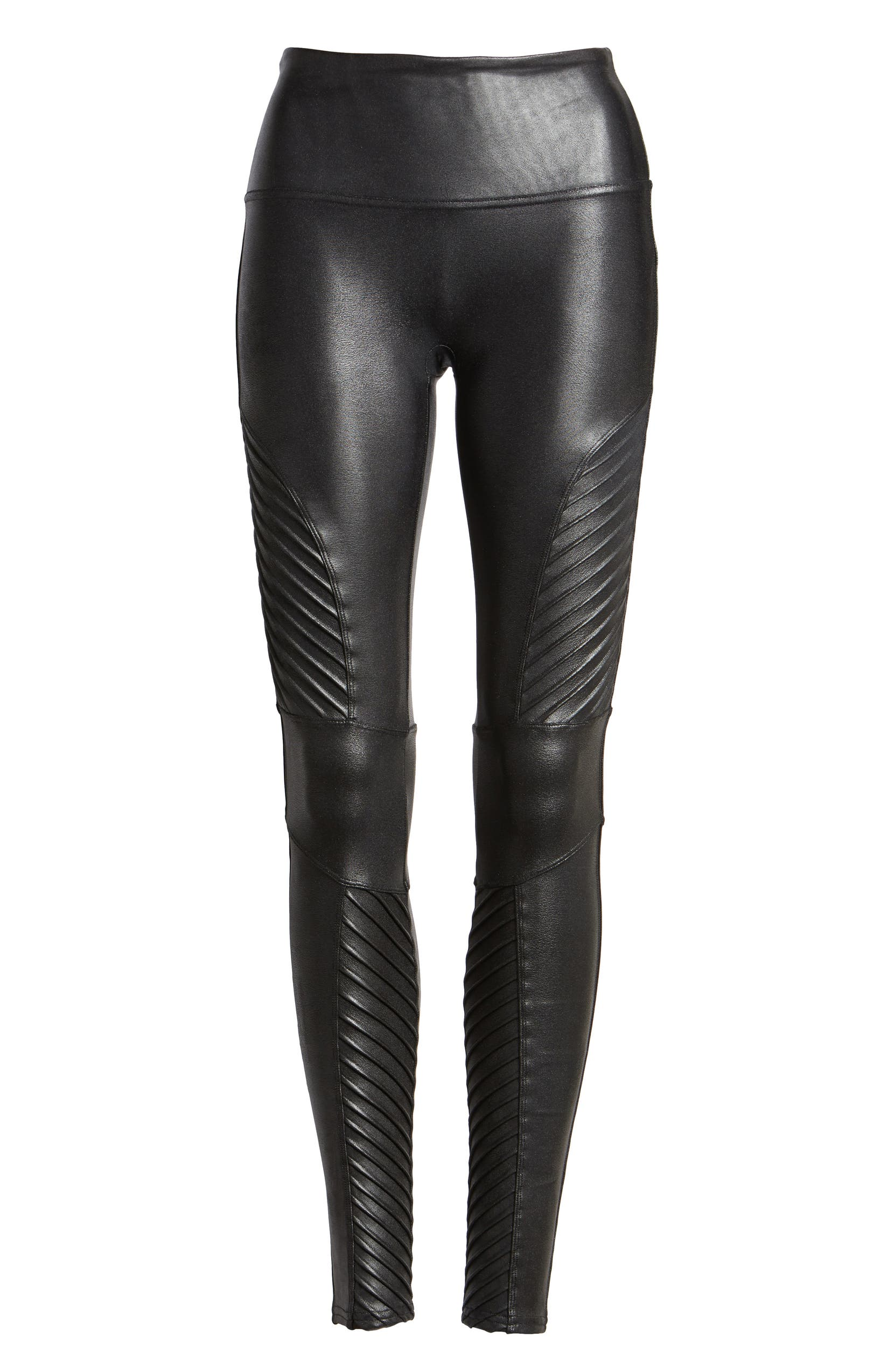 e4f57657d32942 SPANX® Faux Leather Moto Leggings | Nordstrom