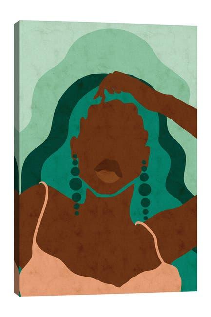 Image of iCanvas Emerald by Reyna Noriega