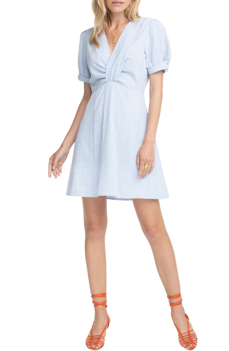 ASTR THE LABEL Taylor Fit & Flare Dress, Main, color, 100