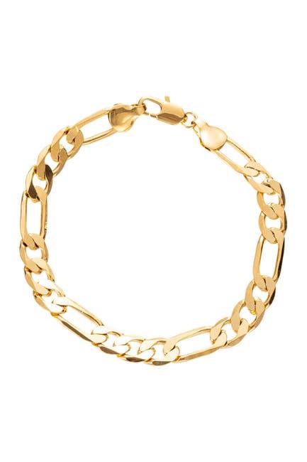 Image of Eye Candy Los Angeles Matthew Cuban Link Titanium Single Strand Bracelet