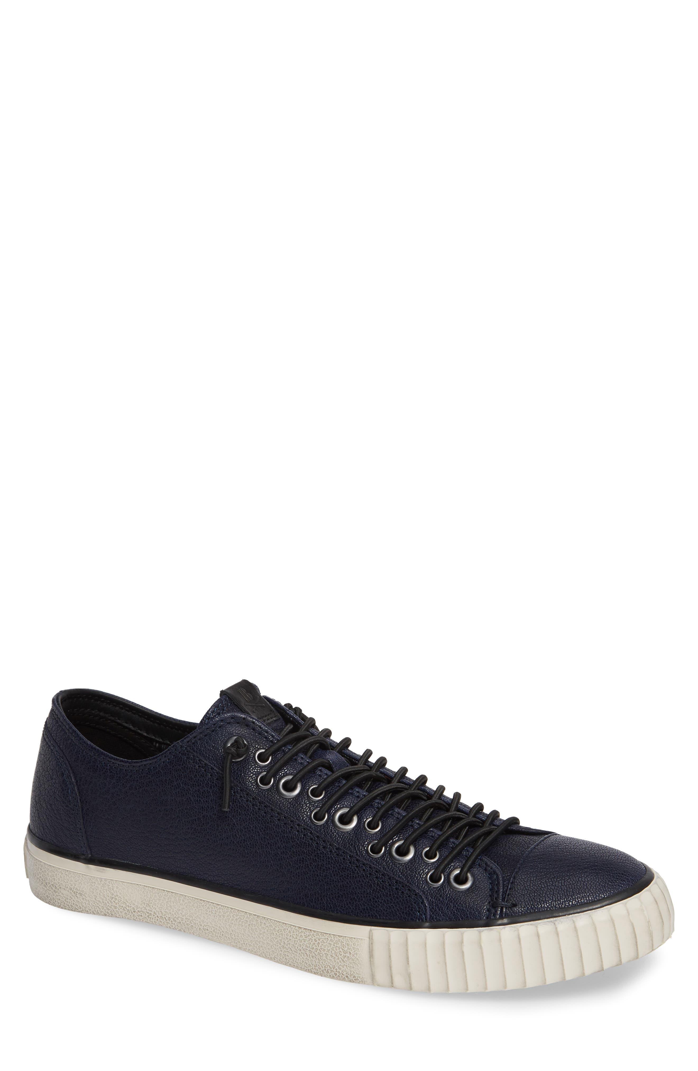 John Varvatos Star Usa Bootleg Low Top Sneaker, Blue
