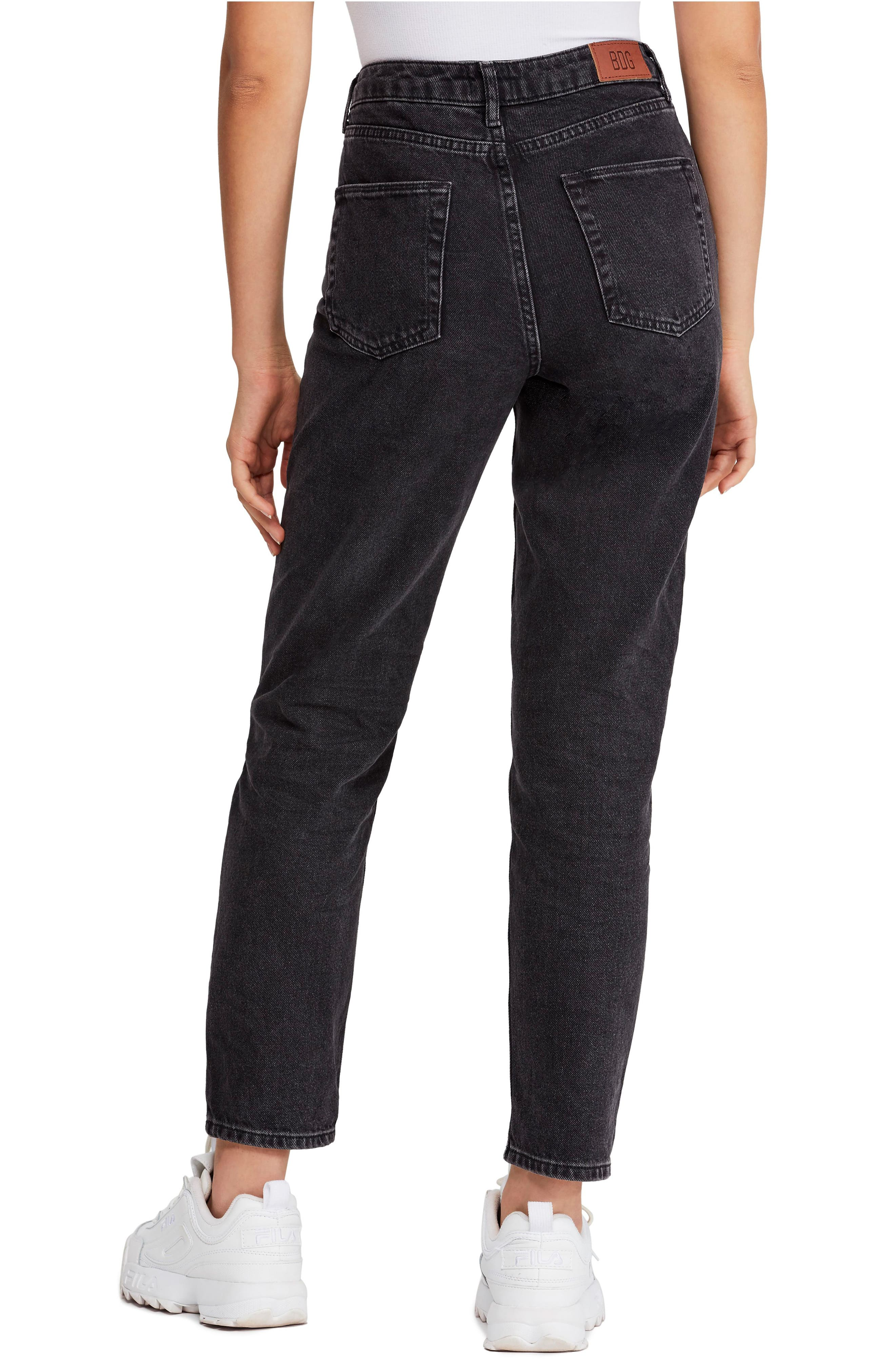 ,                             Urban Outfitters Mom Jeans,                             Alternate thumbnail 2, color,                             CARBON