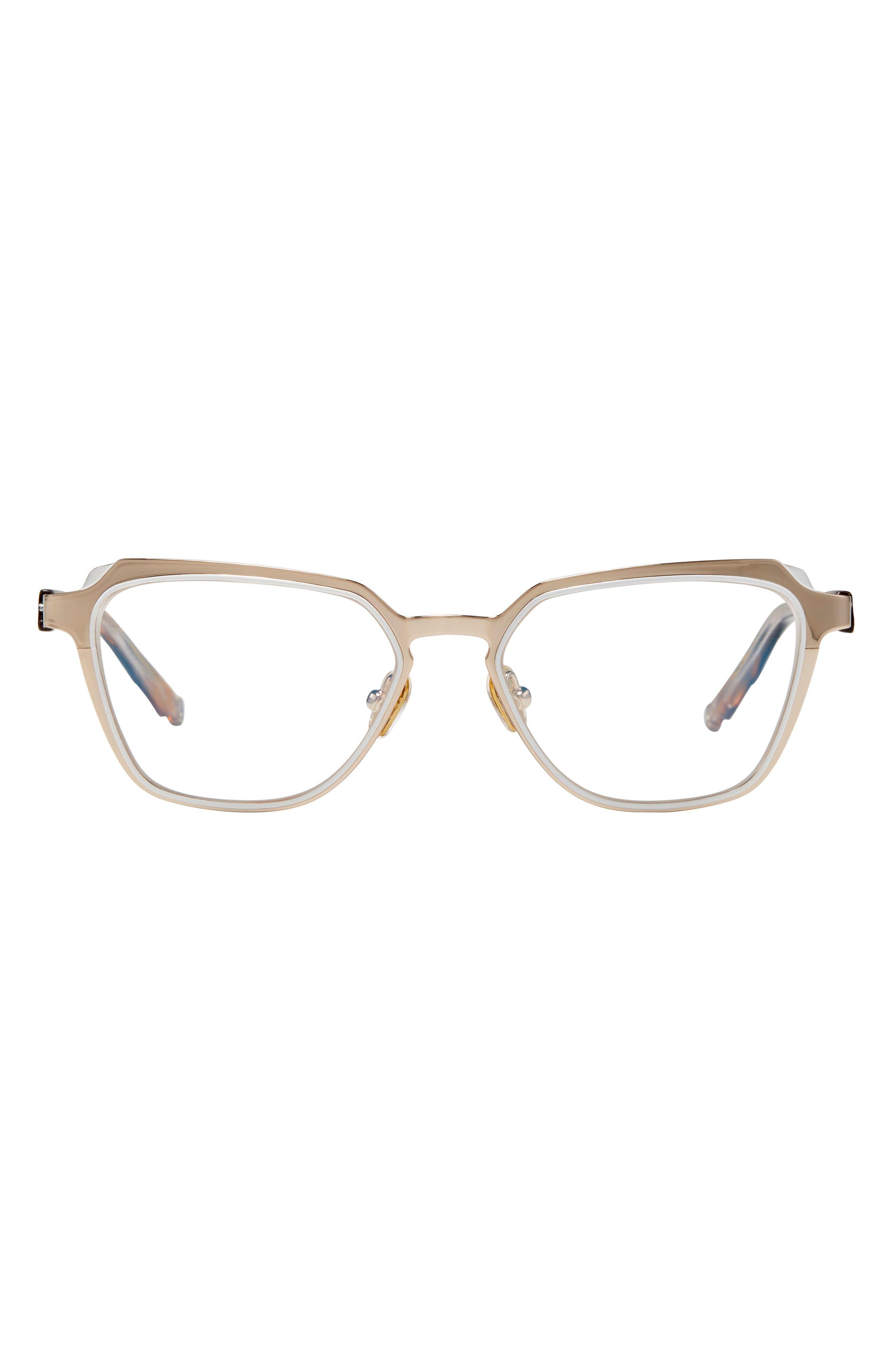 Elevated Pentagon 53mm Blue Light Blocking Glasses