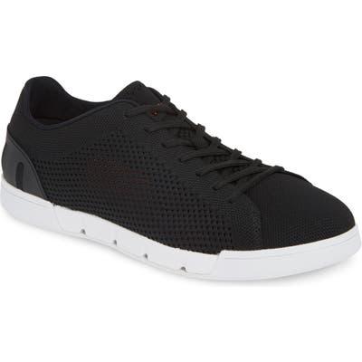 Swims Breeze Tennis Washable Knit Sneaker- Black