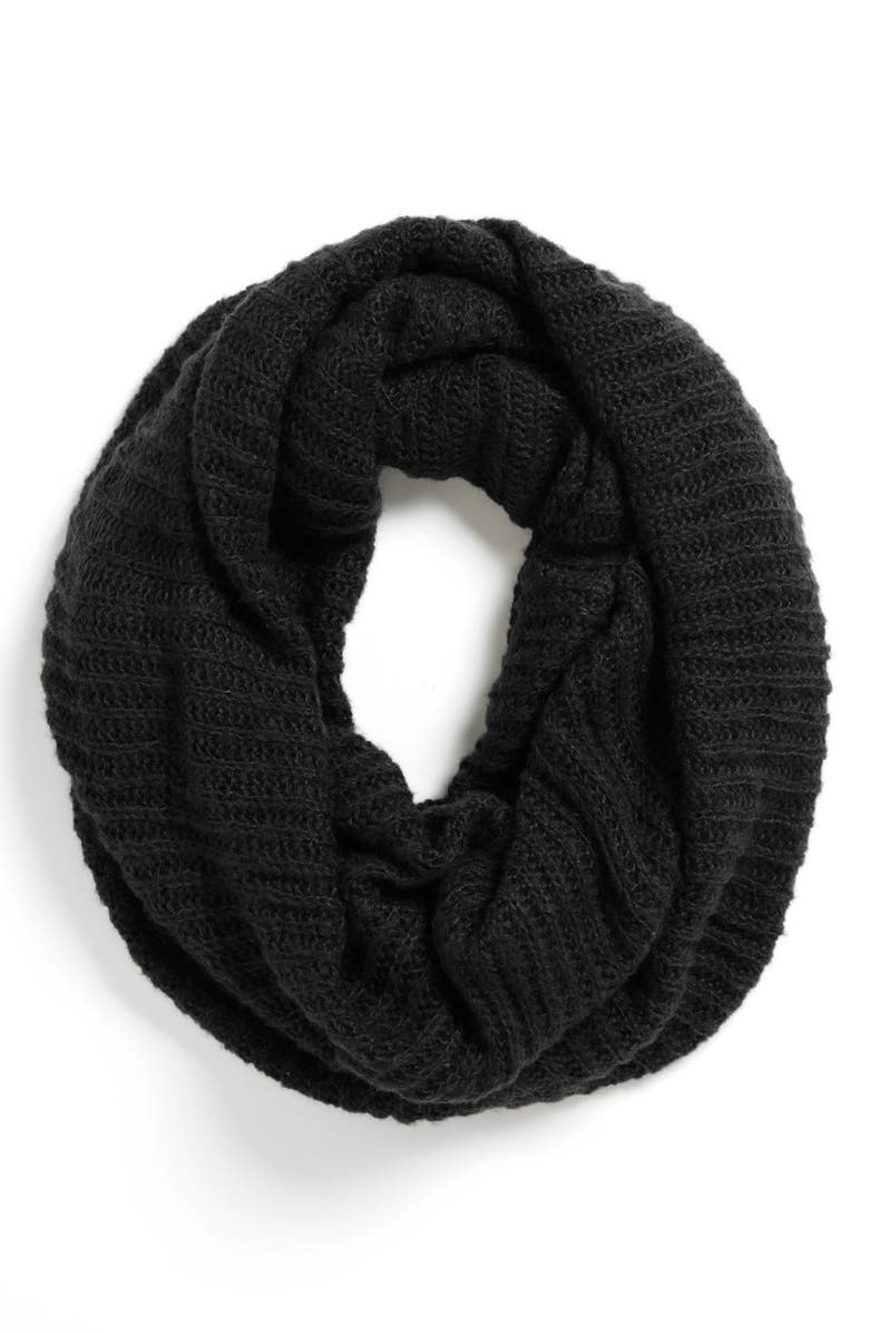 BP. Ribbed Infinity Scarf, Main, color, 001