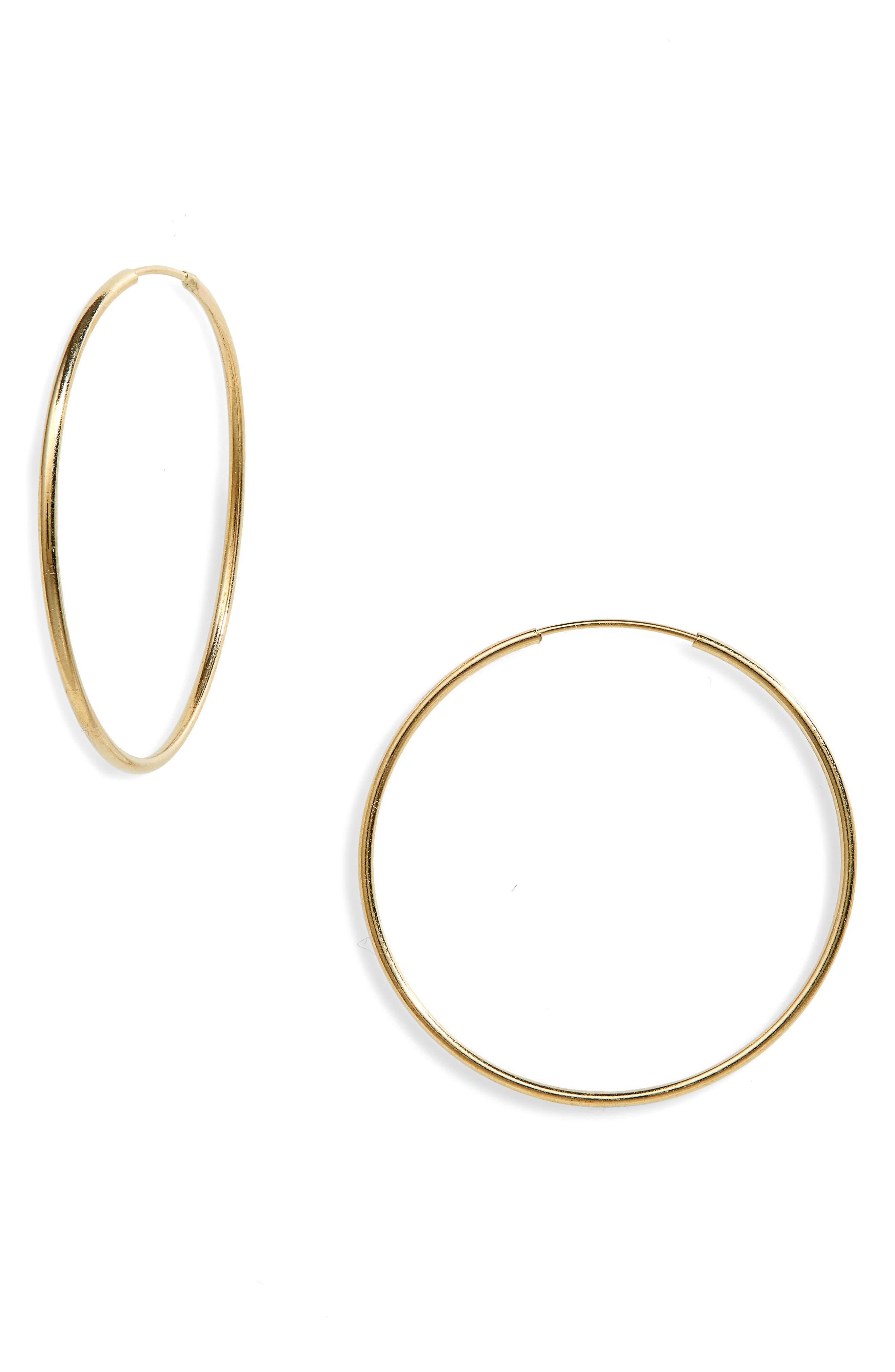 Winona Infinity Hoop Earrings