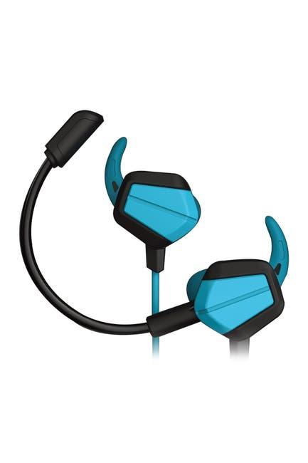 Image of Tzumi Alpha Gaming HD Gaming Blue Earbuds - Rebel