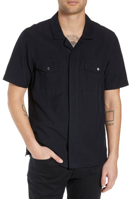 Image of BLDWN Cokas Slim Fit  Short Sleeve Sport Shirt