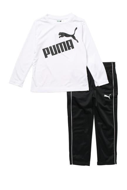 Image of PUMA Tricot 2-Piece T-Shirt & Pants Set