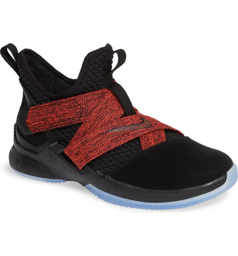 NIKE LeBron Soldier XII Basketball Shoe, Main, color, 003