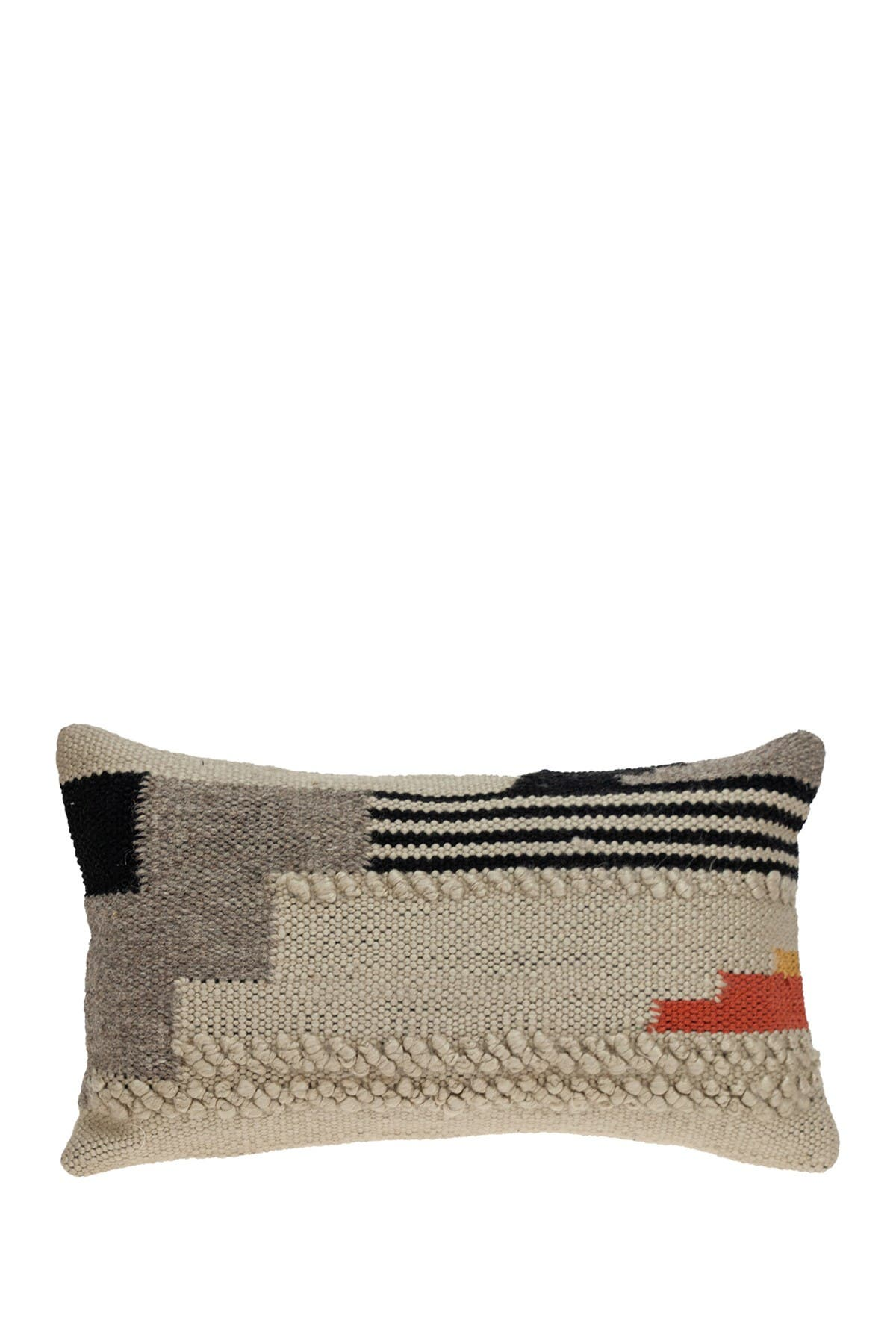 Image of Parkland Collection Harvest Transitional Beige Throw Pillow