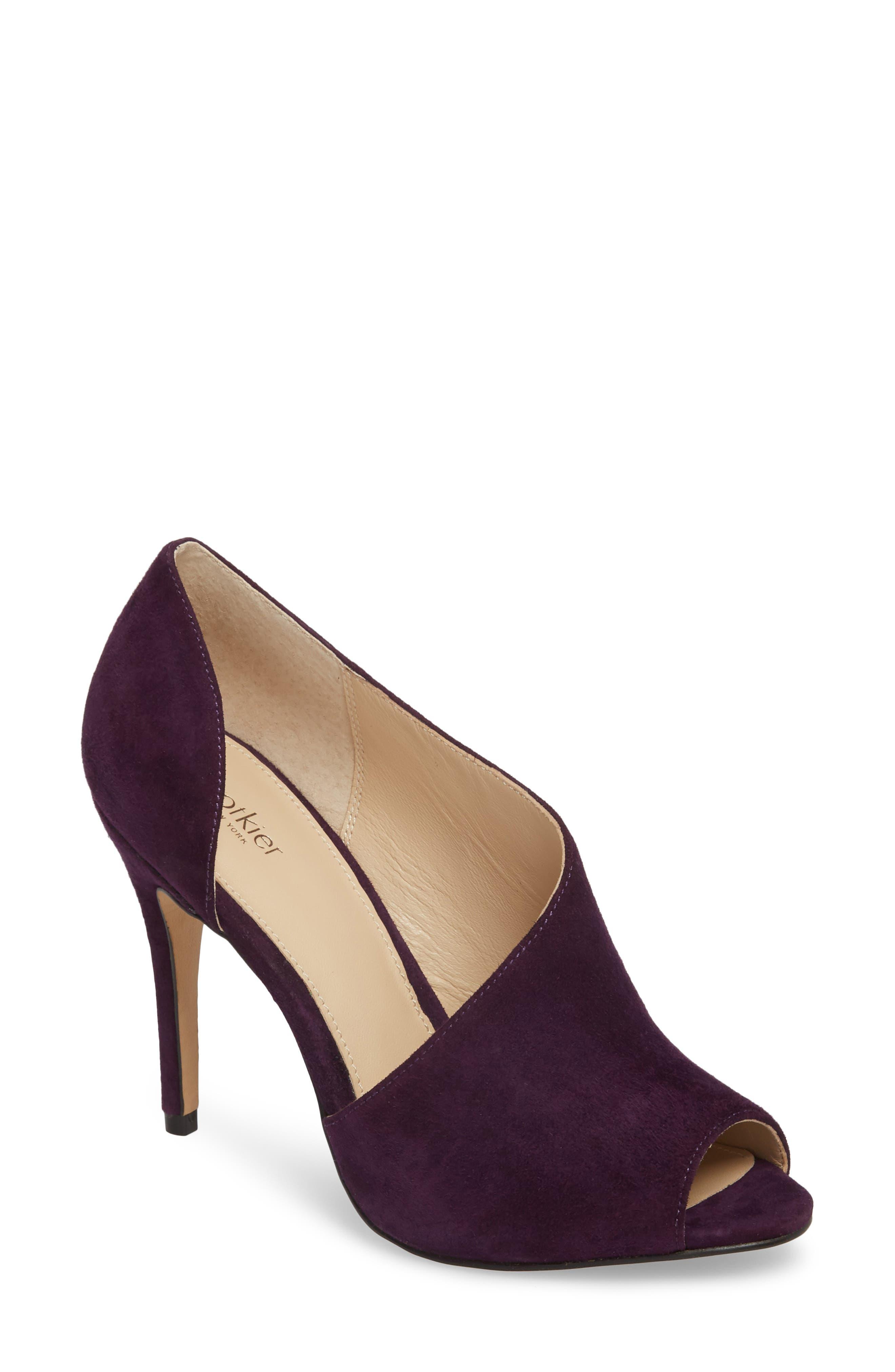Botkier Adelia Asymmetrical Sandal- Purple