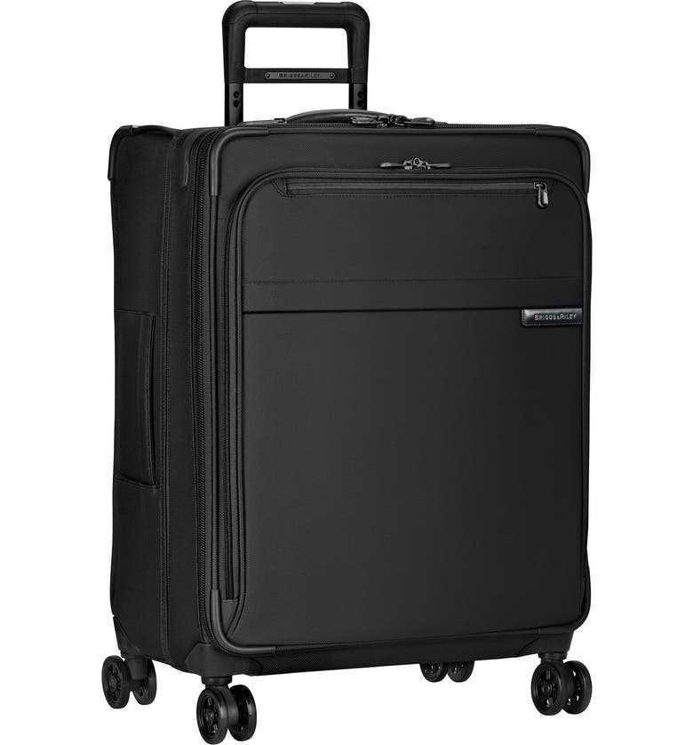 BRIGGS & RILEY 'Baseline' Medium Expandable Rolling Packing Case, Main, color, BLACK