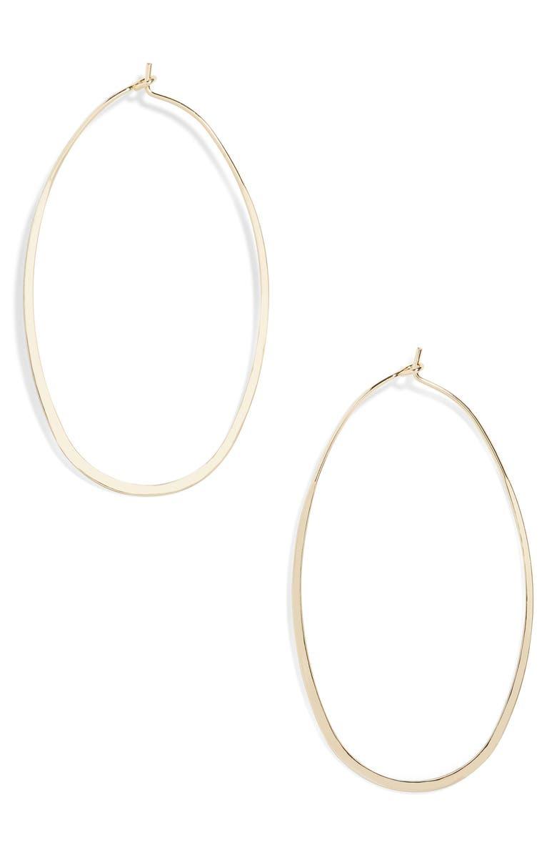 BAUBLEBAR Damiane Hoop Earrings, Main, color, 710