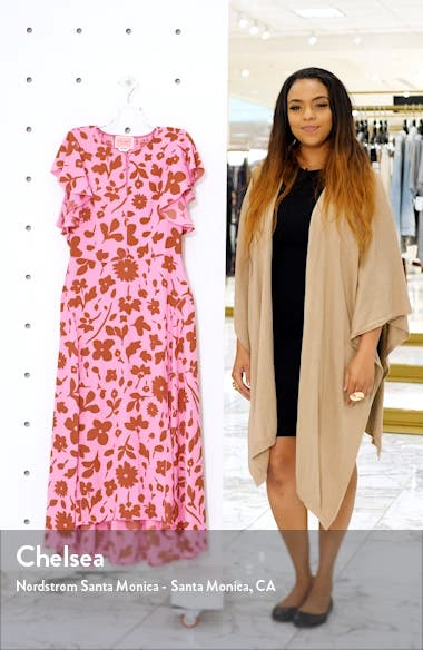 splash midi dress, sales video thumbnail