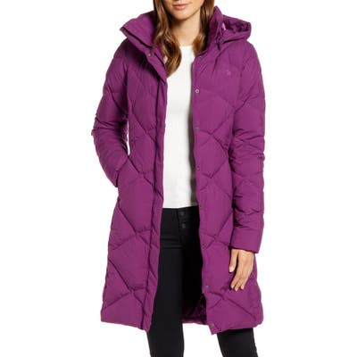 The North Face Miss Metro Ii Water Repellent Hooded Parka, Purple