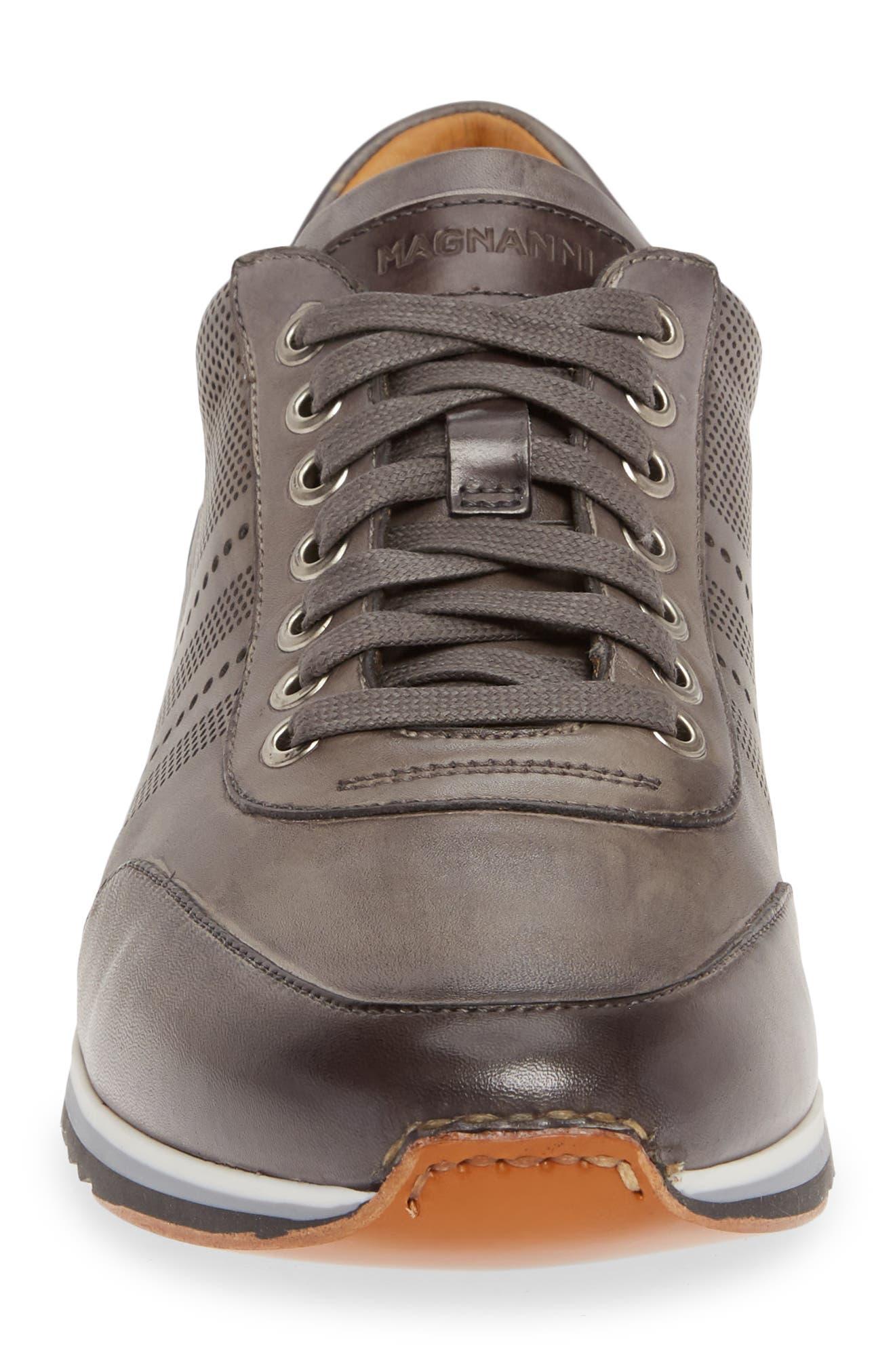 ,                             Merino Sneaker,                             Alternate thumbnail 4, color,                             GREY LEATHER