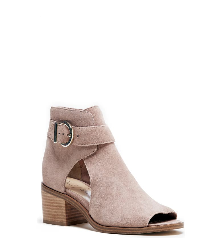 SOLE SOCIETY Tracy Block Heel Sandal, Main, color, DUSTY ROSE SUEDE
